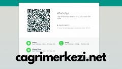 WhatsApp Web Karekod QR Direk Bağlanma İletişim 2019